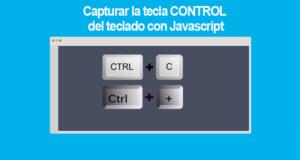 Capturar la tecla CONTROL del teclado con Javascript