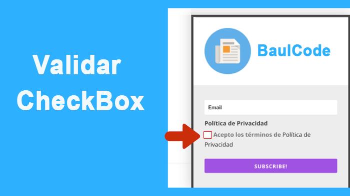 Validar Checkbox PHP