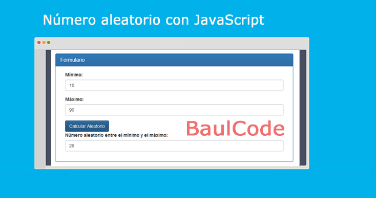 Photo of Número aleatorio con JavaScript: Ejemplo Completo