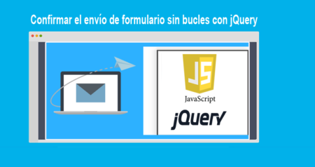 Confirmar el envío de formulario sin bucles con jQuery
