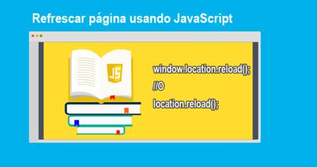 Refrescar página usando JavaScript