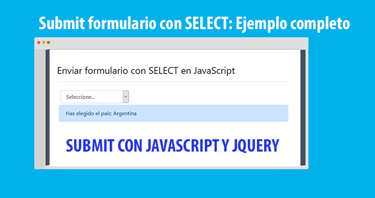 Photo of Submit formulario con SELECT: Ejemplo completo