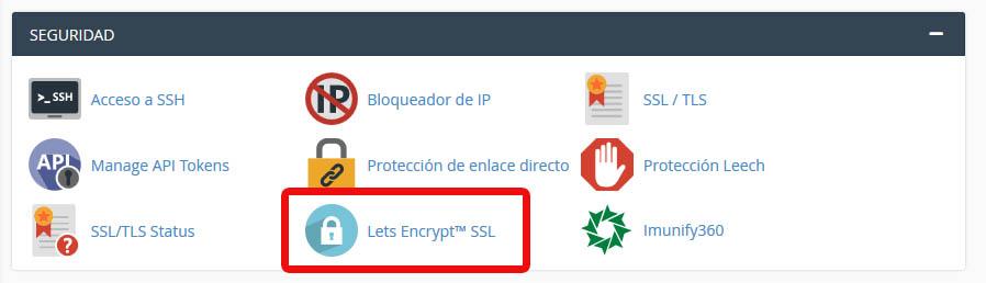 Activar SSL en cpanel