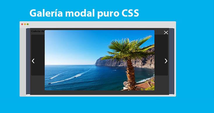 Photo of Galería modal puro CSS: Ejemplo completo