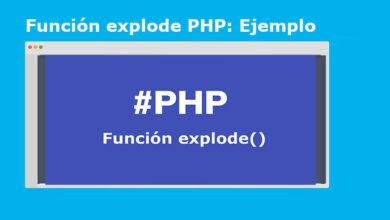 Photo of Función explode PHP: convertir cadena en array