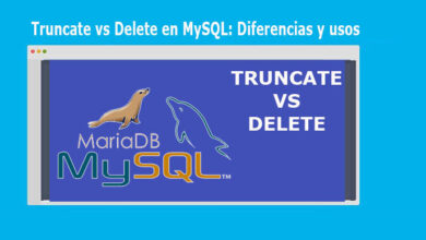 Photo of Truncate vs Delete en MySQL: Diferencias y usos
