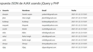 Photo of Descargar Ejemplo respuesta JSON de AJAX