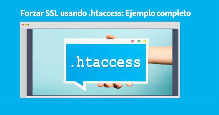Forzar SSL usando htaccess
