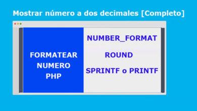 Photo of Mostrar número a dos decimales [Ejemplo Completo]