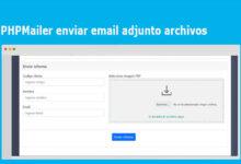 PHPMailer con archivos adjuntos