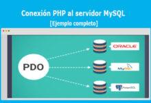 Conexión PHP al servidor MySQL
